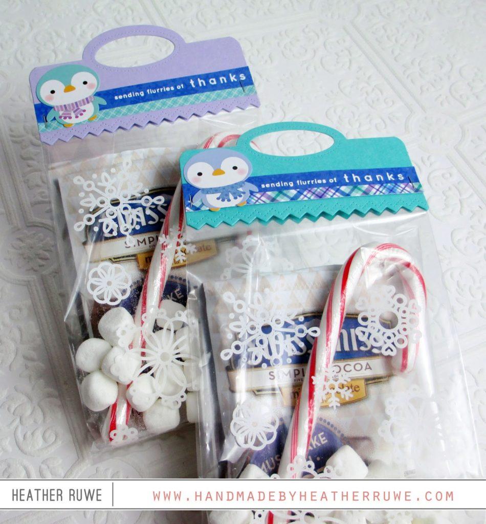 Valentine's Day Favor - Treat Bag Topper | sweetdesignsbyregan |Hot Chocolate Treat Bags