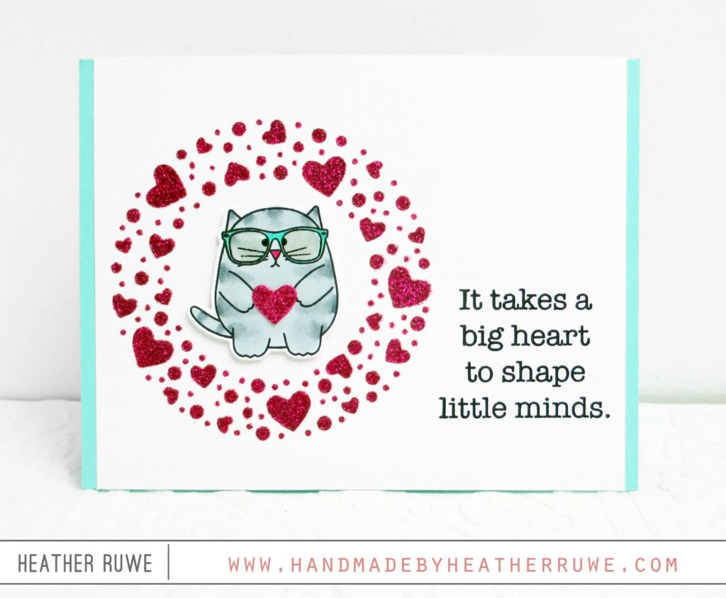 Sss encouraging words handmade by heather ruwe i started by stamping coloring and cutting out the cat image from this stamp and coordinating die set i stamped a sentiment from this new stamp set on a kristyandbryce Image collections