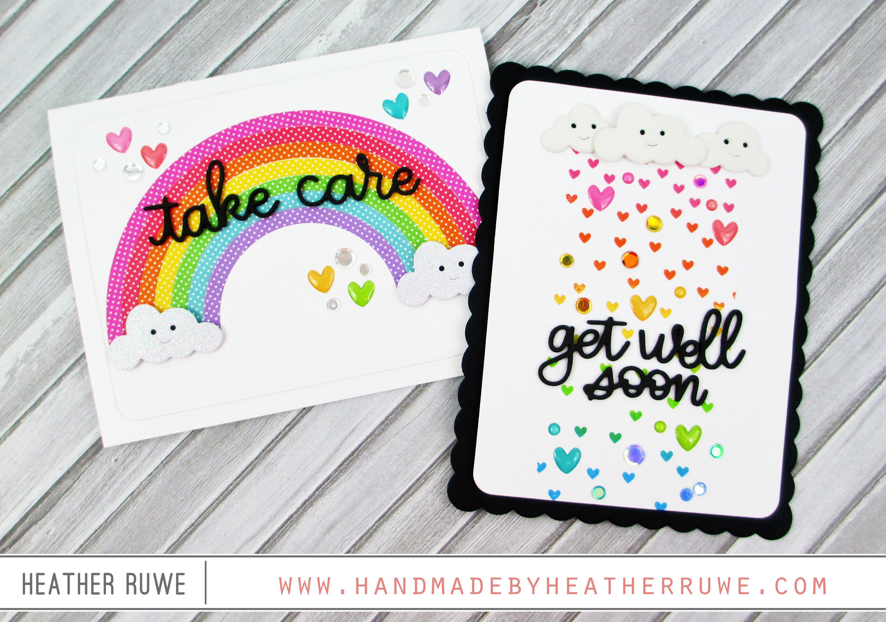 get well soon cards handmade by heather ruwe