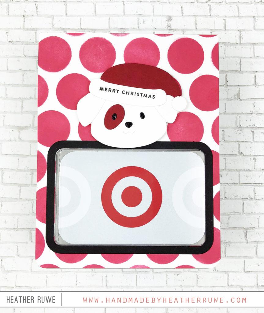 Gift Card Window - Handmade by Heather Ruwe